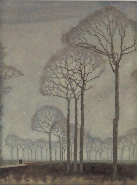 Jan Mankes, Bomenrij